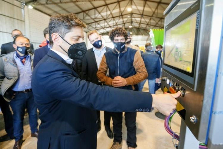 Ambiente  El Gobierno Provincial presentó una nueva tecnología para reducir los residuos