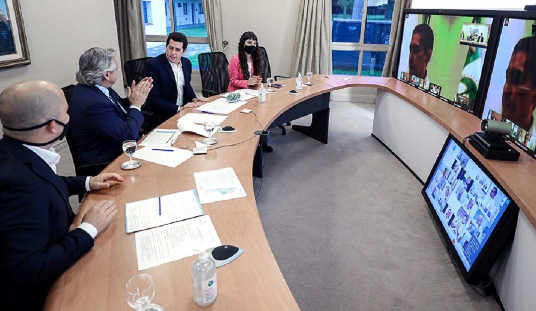 Nación lanza un plan de obras con los intendentes