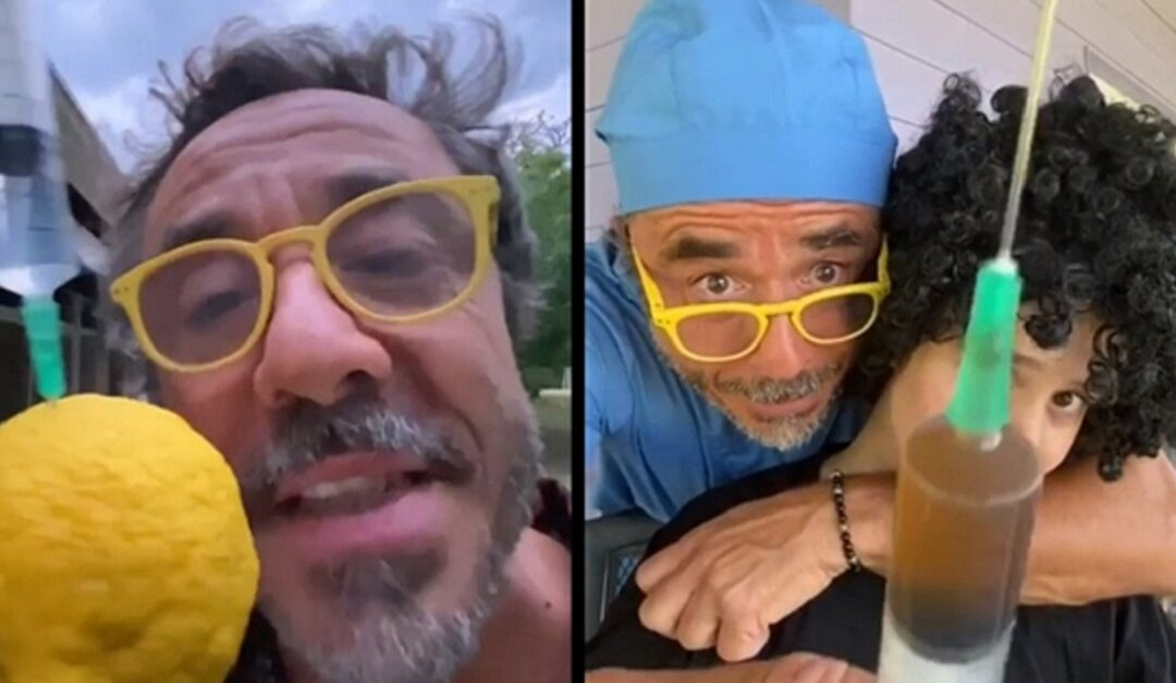 Pablo Granados y un video en tono de humor para concientizar la importancia de vacunarse
