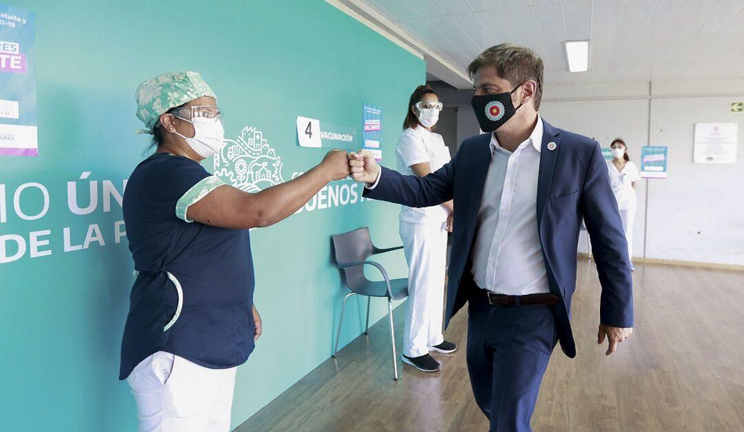 El 95% del personal de salud está vacunado en la provincia de Buenos Aires